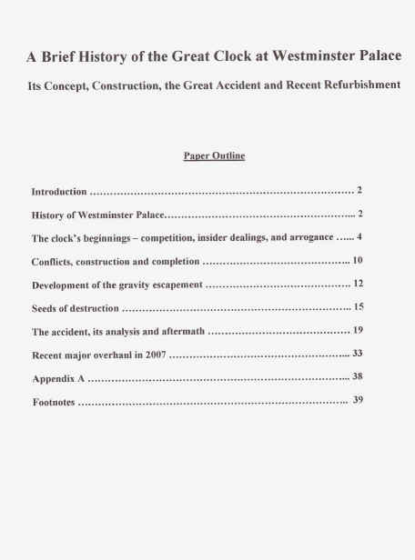 format of table of contents for research paper The table of contents is used in many documents able to be produced in the microsoft word word-processing program for example, authors use a table of contents to outline parts and chapters.